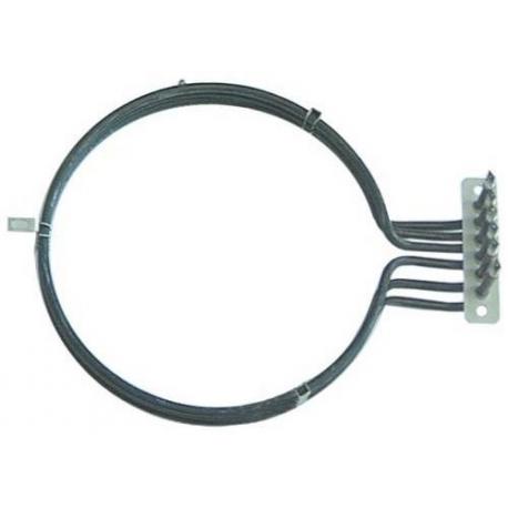 TIQ1011-RESISTANCE POUR FOUR A CONVECTION 3150W 230V íINT:200MM
