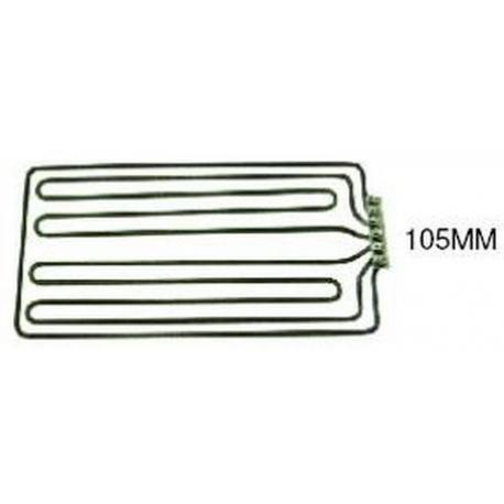 TIQ1033-RESISTANCE PLAQUE GRILL 5000W