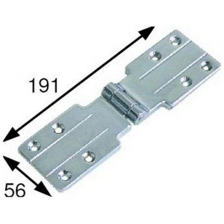 TIQ4987-CHARNIERE 191X56MM