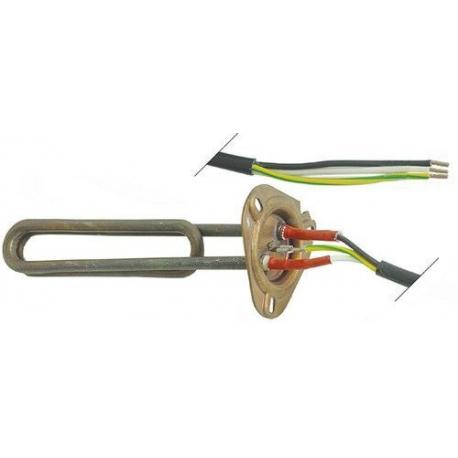 TIQ61865-RESISTANCE 2600W 230V L:215MM L:35MM íBRIDE 47.5MM