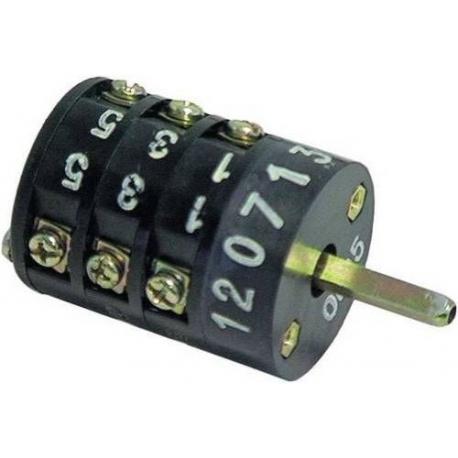 TIQ8899-INTERRUPTEUR 5 POLES 15A/380V