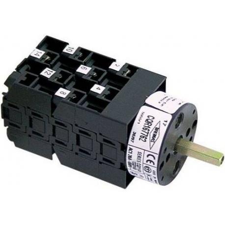 TIQ8923-INTERRUPTEUR ROTATIF 16A/500V