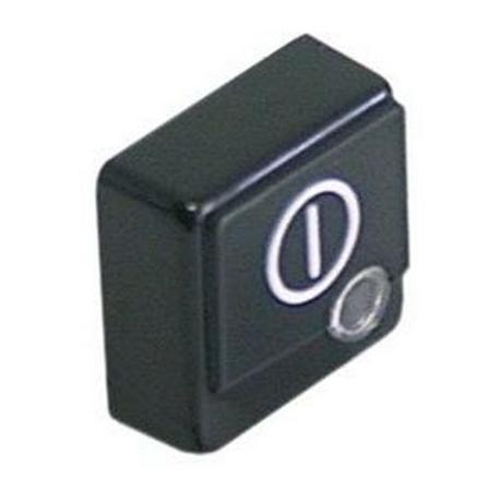 RQ667-BOUTON POUSSOIR POUR INTERRUPTEUR PRINCIPAL 23X23MM ORIGINE