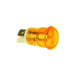 LAMPE TEMOIN BLANC 230V 12MM