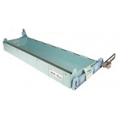 VPQ01-CUVETTE A GLACONS COMPLETE N12/22/140/150 L:690MM L:230MM