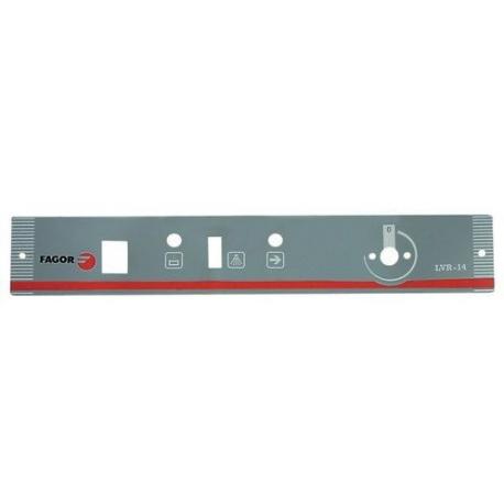 TIQ68500-AUTOCOLLANT PANNEAU COMMANDE