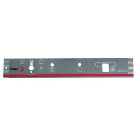 TIQ68516-AUTOCOLLANT PANNEAU COMMANDE