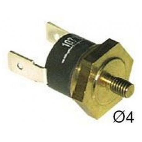 185-THERMOSTAT 250V AC 16A TMAXI 107°C 1 POLE
