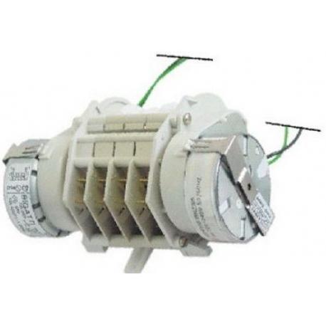 TIQ60356-PROGRAMMATEUR 230V 4CAMES 245-170-108SEC 2 MOTEURS