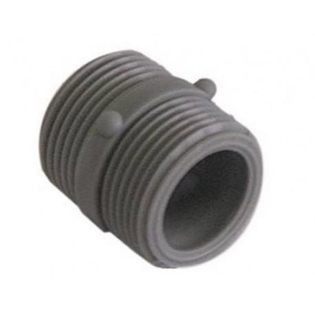 TIQ2040-LOT DE 5 RACCORDS 3/4 PVC