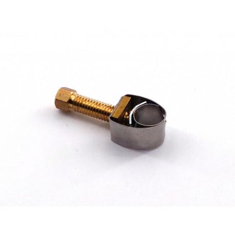 TIQ2041-LOT 5 COLLIER SERRAGE í5-10MM INOX