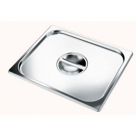 EVD6947-COUVERCLE INOX PLEIN GN2/3