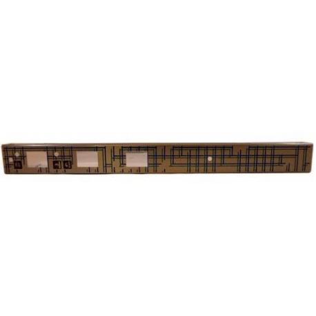 HAQ617-PANNEAU COMMANDE 3 BOUTONS ORIGINE UNIVERBAR