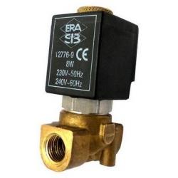 ELECTROVANNE ERA D EAU-GAZ-AIR 2VOIES 8W 230-240V AC 50-60HZ