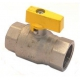 TIQ2210-ROBINET GAZ 1F POIGNEE A