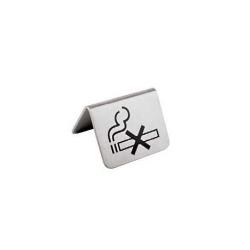 PLAQUETTE DE TABLE NON FUMEUR
