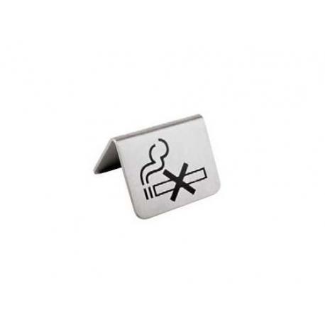 RRI162-PLAQUETTE DE TABLE NON FUMEUR