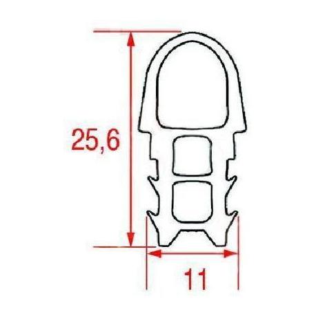 QVI6098-JOINT DE PORTE FOUR L=2100MM