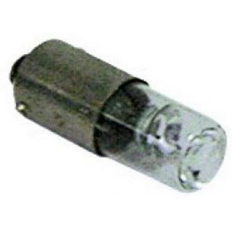 TIQ62435-LAMPE 130V 2W 10X28MM