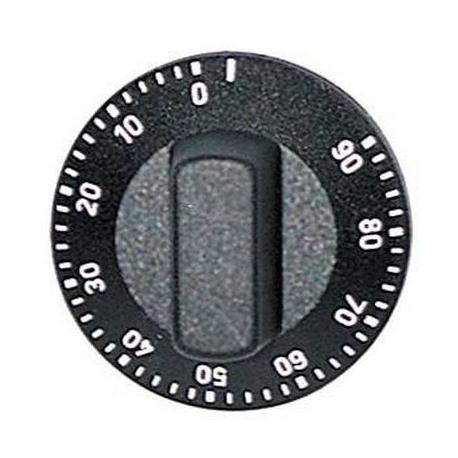 TIQ7285-MANETTE ROTATIVE 50MM