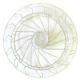 IQ475-PANIER ROND ASSIETTES 16 PLATS CERCLAGE 390MM H:145MM í480MM