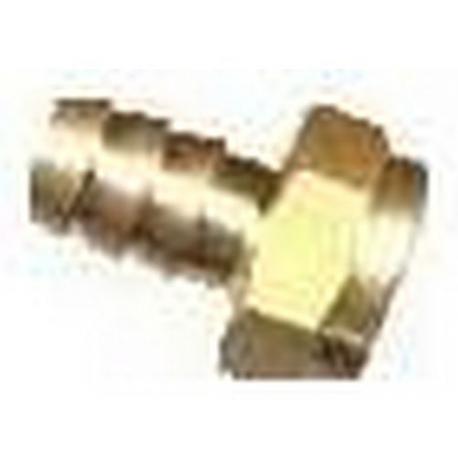 IQ989-RACCORD SORTIE GAZ 1/4F D/10MM