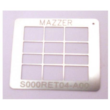 ZEQ650-GRILLAGE TYPE 'D' MAJOR ORIGINE MAZZER