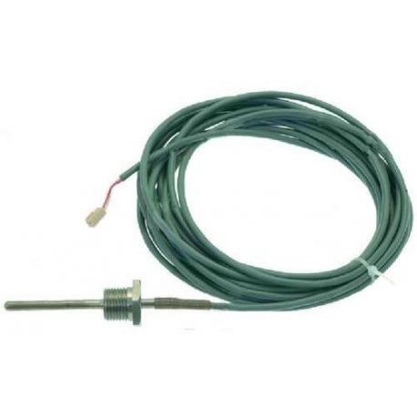 PQQ017-SONDE PT100 CABLE 6500MM 1/2