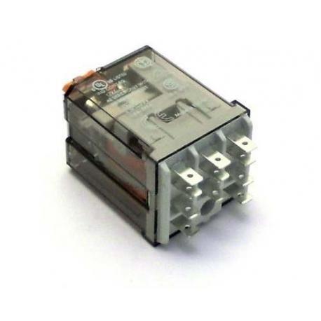 TIQ0703-RELAIS 2 CONTACTS INVERSEURS FINDER 60.62 220V 50/60HZ 10A