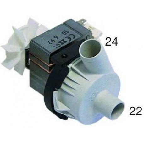 TIQ1335-POMPE VIDANGE 80W 220V/50HZ