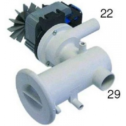 POMPE PLASET AVEC FILTRE 90W 0.12HP 220V AC 50HZ ENTREE 30MM