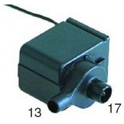 POMPE 12VAC 9W 420L/H STAFF C25/C35/C50 ORIGINE STAFF