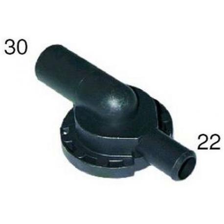 TIQ1445-FLASQUE DE POMPE AS.30 REF.22MM