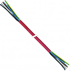 CABLE SILICONE 5X1.5MMý /25M