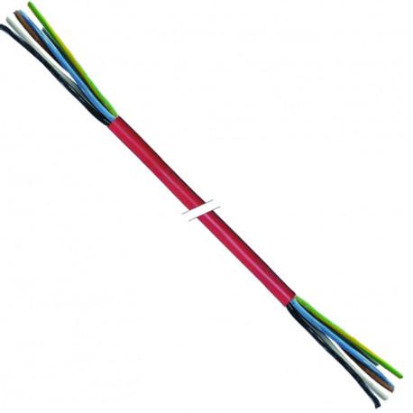 TIQ3116-CABLE SILICONE 5X1.5MMý /25M
