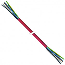 CABLE SILICONE 5X4MMý /25M
