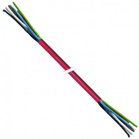 TIQ3118-CABLE SILICONE 5X4MMý /25M