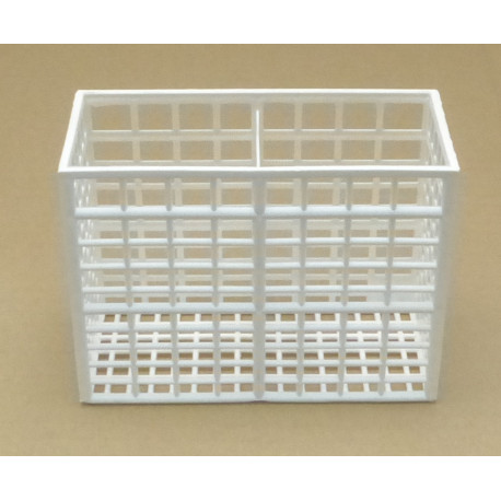 ITQ6521-PANIER COUVERTS 2 CASES 130X55XH100MM