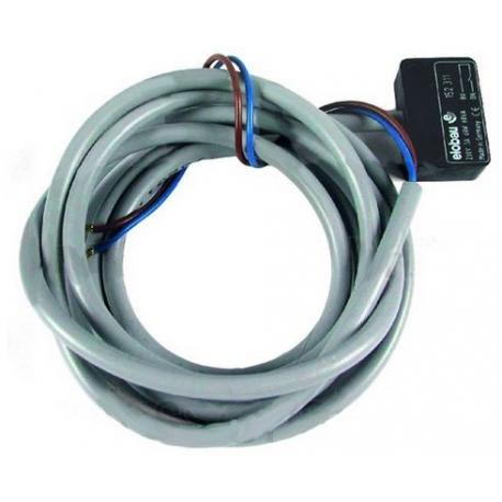MNQ622-MICRO-RUPTEUR MAGNETIQUE CABLE L1700MM 230V 1A