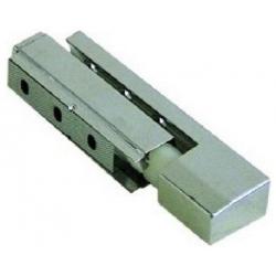CHARNIERE CHROMEE R50 AVEC RAMPE G/D