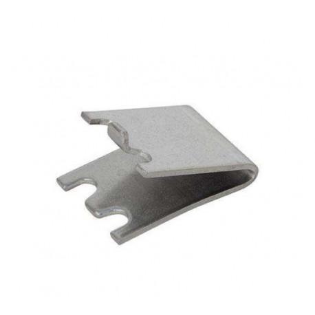 TIQ4939-ETRIER ACIER INOXYDABLE 22MM