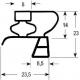 TIQ65144-JOINT DE PORTE 395X300MM 1/2