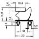 TIQ65388-JOINT DE PORTE 465X1630MM 1/1