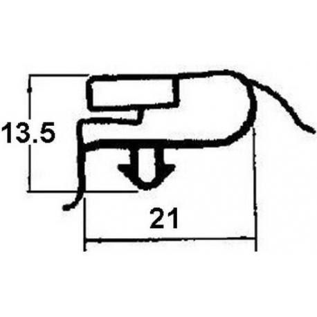 TIQ65324-JOINT DE PORTE 685X750MM 1/1