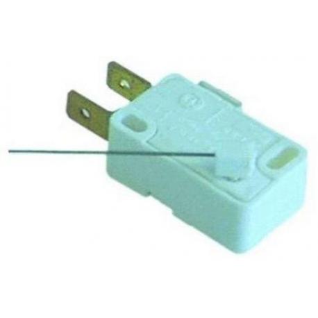 TIQ8000-MICRORUPTEUR AVEC TIGE 250V 6A 85° MAX L:113MM