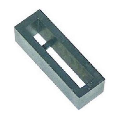 TIQ4087-PLAQUE U 50X15MM