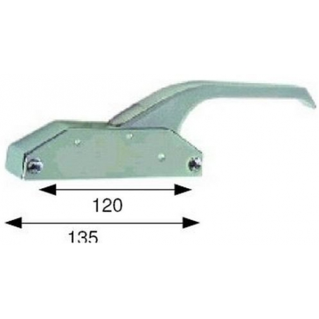TIQ4096-FERMETURE A LEVIER L135MM