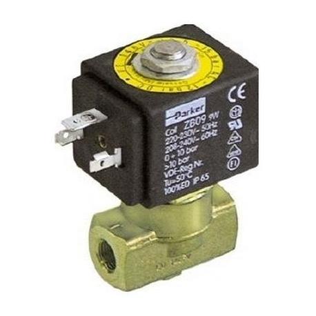 IQ671-ELECTROVANNE PARKER 2VOIES 9W 220-230V 50-60HZ ENTREE 1/8F