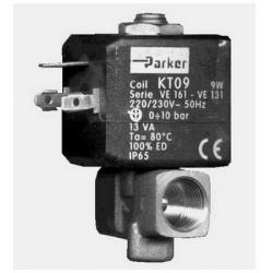 ELECTROVANNE JOINT VITON 2VOIES 6W 220-230V AC 50-60HZ