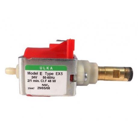 IQ892-POMPE ULKA EX5 VIBRANTE 2/1MIN 48W 24V AC 50/60HZ CONNEXION